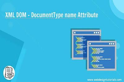 XML DOM - DocumentType name Attribute