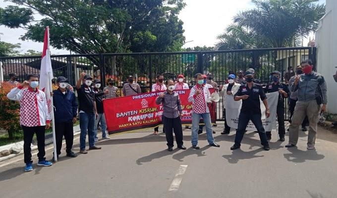 Presidium NGO Banten Mendesak Gubernur WH Rekomendasikan Sekda Banten Dicopot