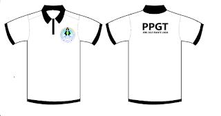 Baju PPGT berkerah