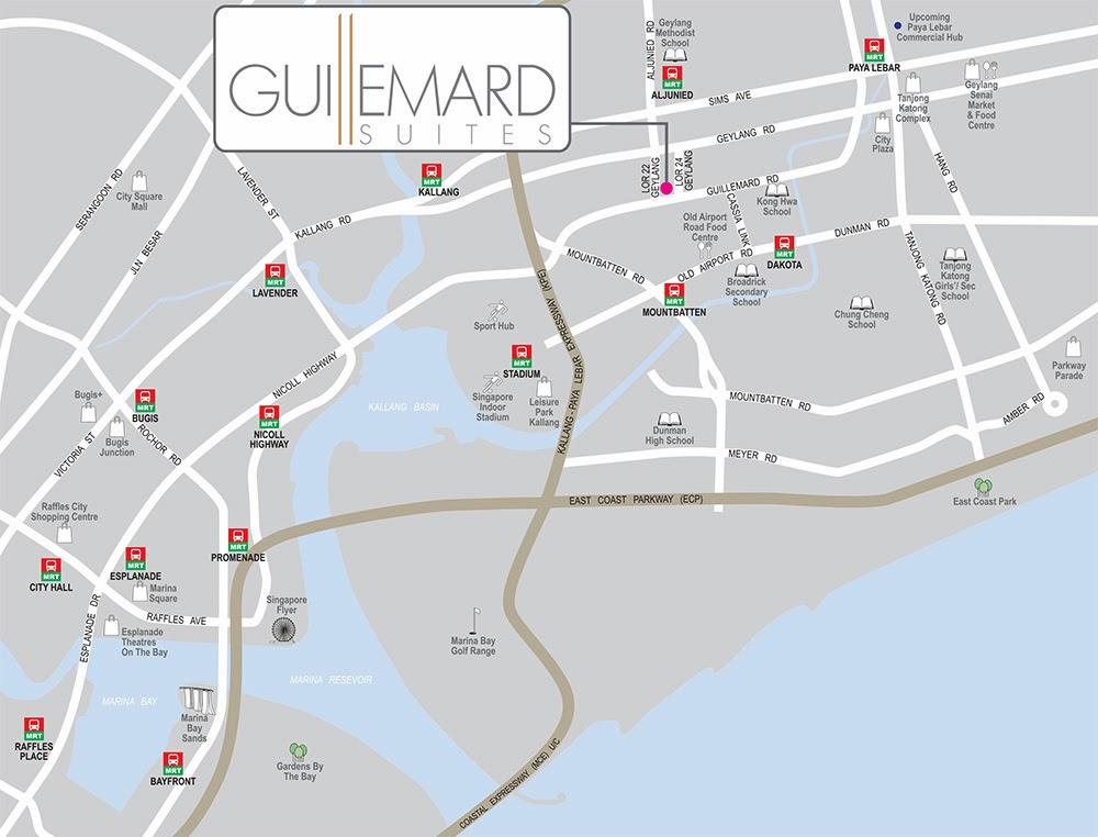 Guillemard Suites Location
