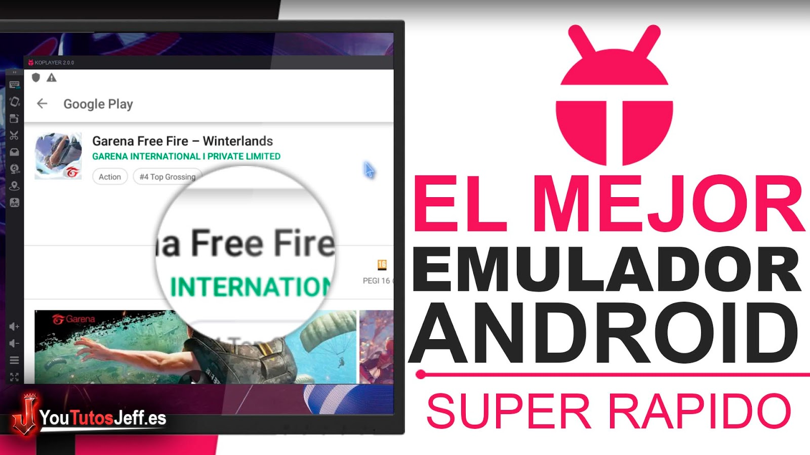 El Mejor Emulador Android para Jugar - Descargar KOPlayer Ultima Versión