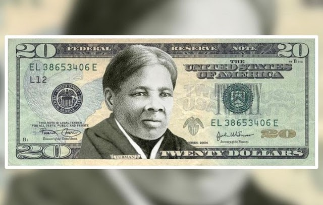 Anti-slavery activist Harriet Tubman's picture on the $20 bill instead of a president