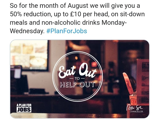 august half price meals england