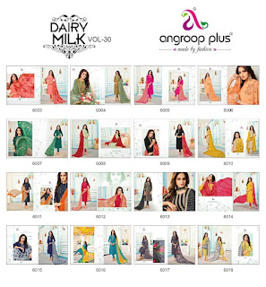 Angroop plus vol 30 Cotton Dress