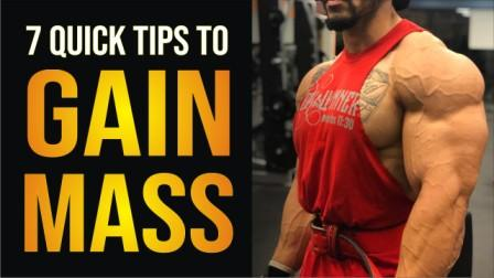 7 Quick Tips to Gain Mass