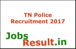 TN Police Recruitment 2017