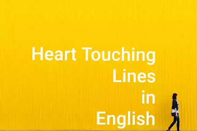 Heart Touching Lines In English
