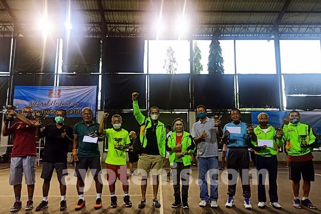 Inilah Juara Turnamen Tenis Baveti Araya-Sier Surabaya Cup I Tahun 2020