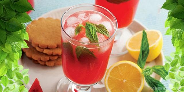 karpuzdan limonata, karpuz limonatası, karpuz limonata nasıl yapılır - Www.KahveKafe.Net
