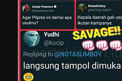 Ganjar Pranowo: Agar Pilpres ini damai apa usulmu?  Jawaban Netizen Telak!
