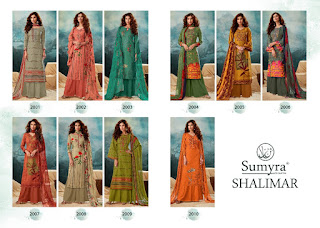 Radhika Sumyra Shalimar Winter Pashmina Collection Wholesale