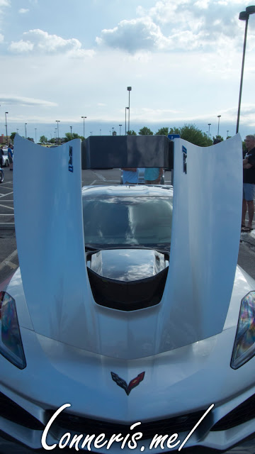 2019 Chevrolet C7 Corvette ZR1 Hood Engine Cutout