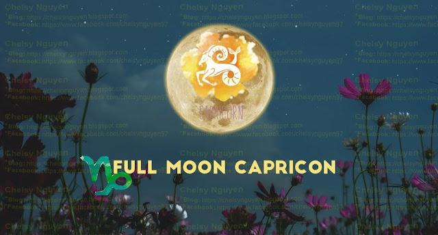 Siêu trăng tròn Ma Kết tháng 6 năm 2021 Full Moon Capricon 2021
