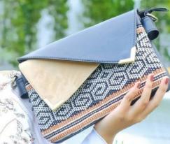 clutch bag by Tako Bag
