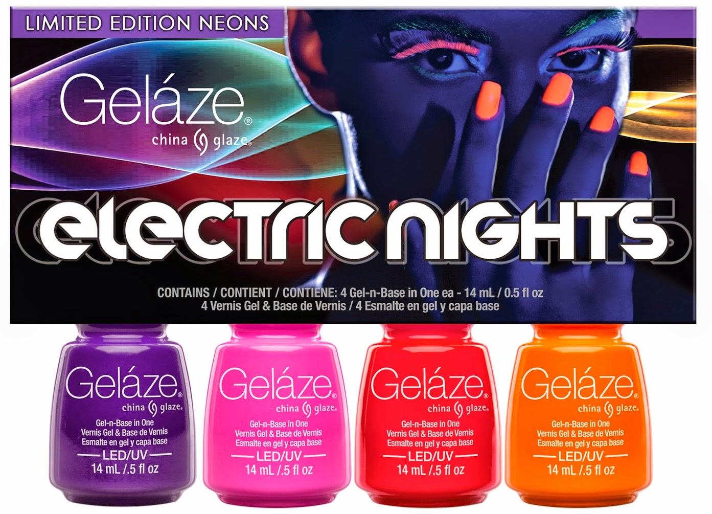 China Glaze Electric Nights Gelaze