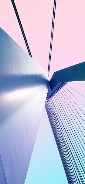 Suspension bridge wallpaper