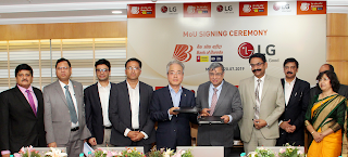 Bank of Baroda signs MoU with LG Electronics India Pvt Ltd.