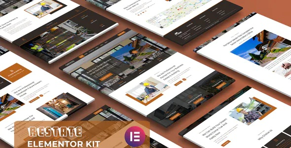 Best Construction Builder Elementor Template Kit