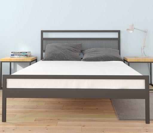 Łóżko metalowe Casper (wzór 42) (140-160 cm)