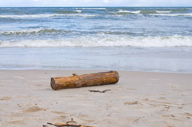 plaża w Łebie, nabrzeże, jak wygląda