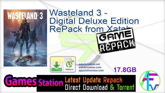Wasteland 3 – Digital Deluxe Edition RePack from Xatab