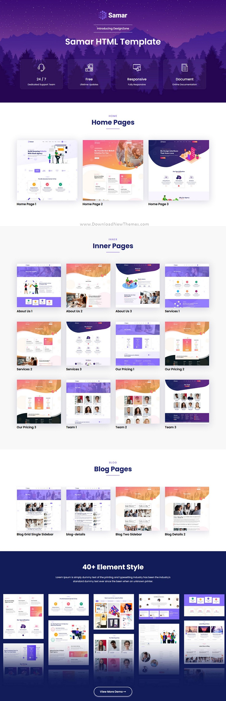 Creative Agency Bootstrap Template