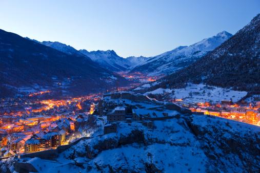 Cidades com neve na França