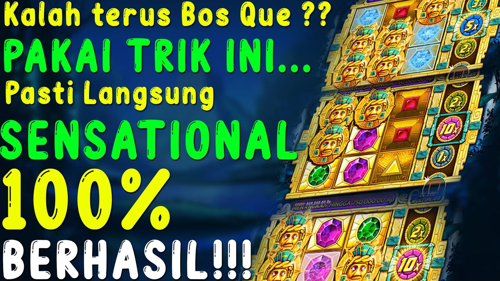 Trik Menang Slot Aztec Gems Pasti Sensational 100