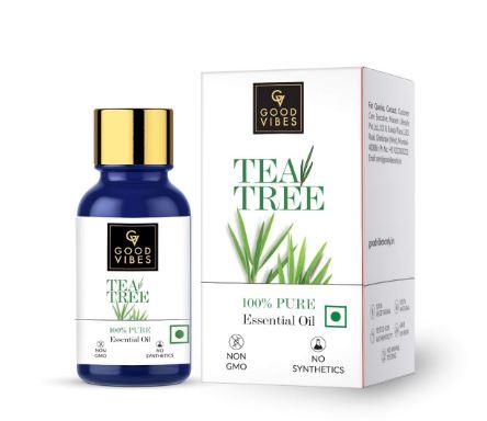 Good Vibes 100% Pure Tea Tree Essential Oil - 10 ml