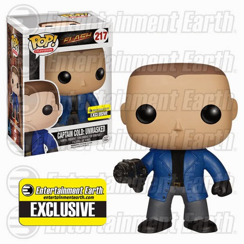 Entertainment Earth Exclusive Unmasked Captain Cold The Flash TV Series Pop! Vinyl Figure by Funko
