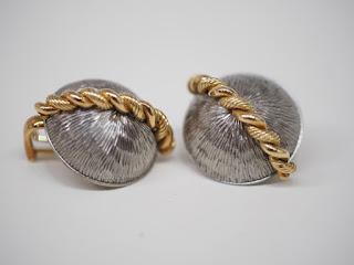 田中治彦・ジュエリーアーティスト作成のイヤリングをお買い取り致しました