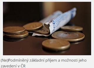 (Ne)Podmíněný základní příjem a možnosti jeho zavedení v ČR