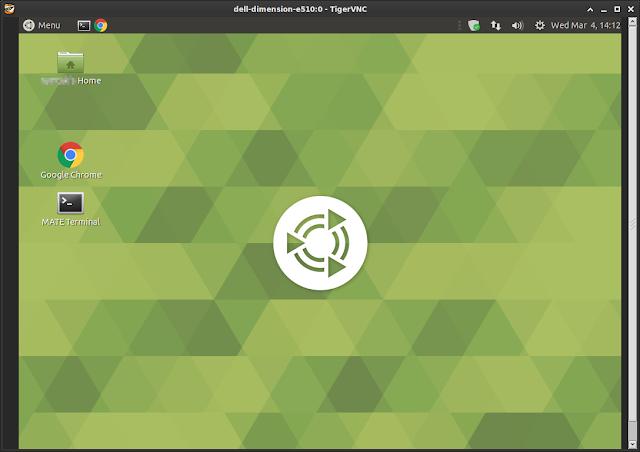 Supratim Sanyal's blog: VNC remote desktop access to real screen of Ubuntu MATE linux using x11vnc