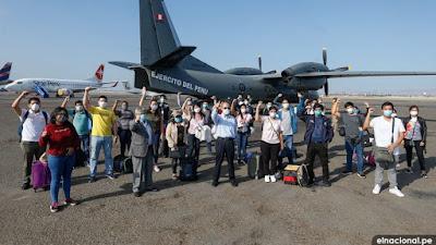 Más de 20 profesionales de salud llegaron a Loreto para atender crisis por Covid-19