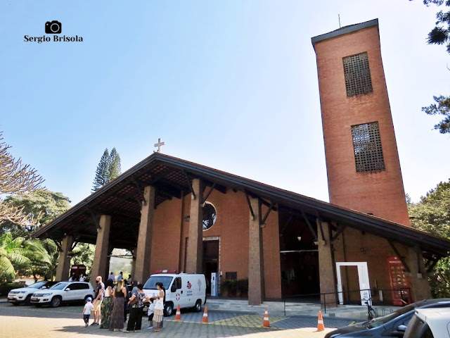 Vista ampla da Catedral Anglicana de São Paulo - Santo Amaro - São Paulo