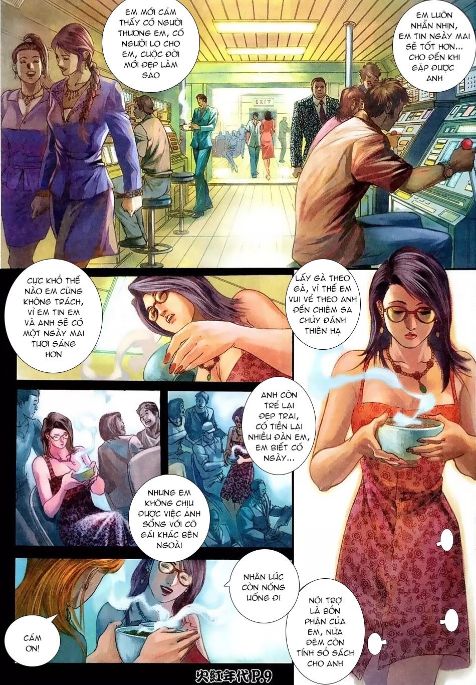 Hỏa Hồng Niên Đại Hắc Cốt Đường Chap 114 - Trang 7