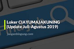 Loker CIAYUMAJAKUNING (Update Juli-Agustus 2019)