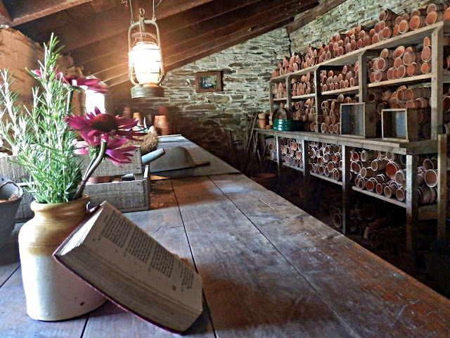 Potting shed, Lost Gardens of Heligan, Cornwall
