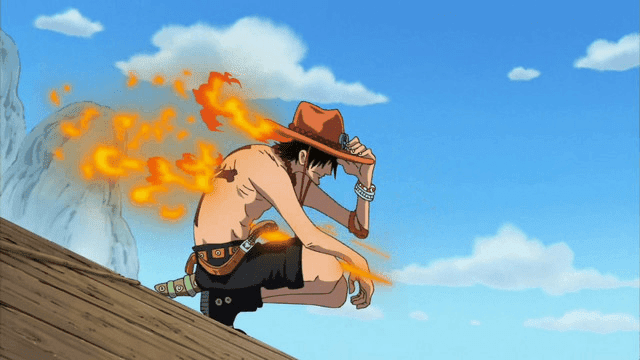Setelah lama berkelana sendiri, Ace memutuskan untuk bergabung dengan bajak laut Shirohige