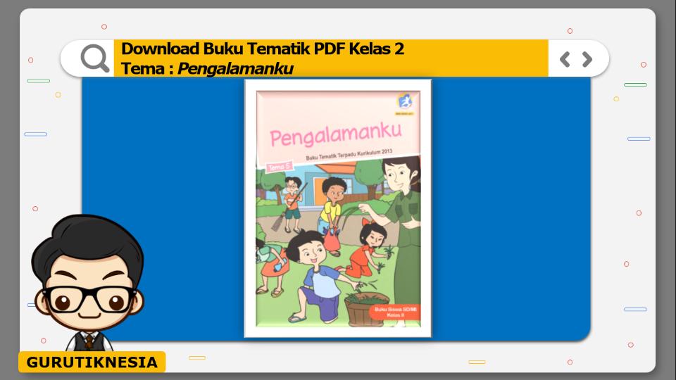 download buku tematik pdf kelas 2 tema pengalamanku