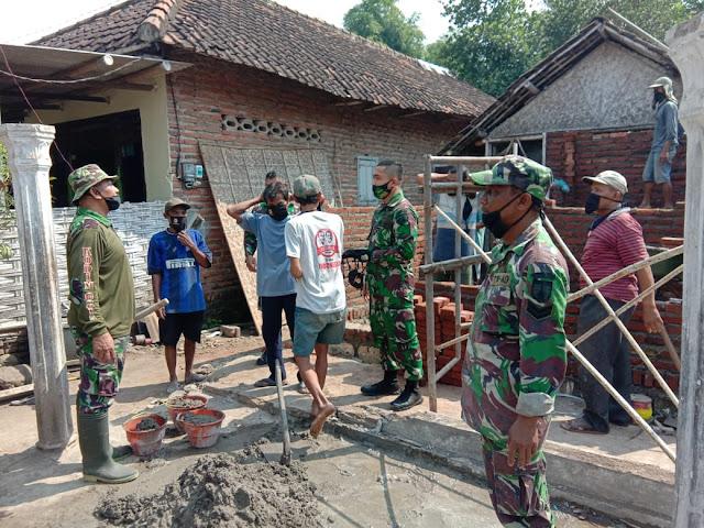 Tingkatkan Kualitas Hidup Masyarakat, Kodim 0815/Mojokerto Renovasi 300 Unit Rumah Warga