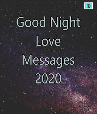 Good Night Love Messages for 2020