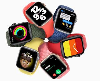 ساعة آبل واتش Apple Watch SE الإصدارات: A2353 ، A2354 ، A2355 ، A2356