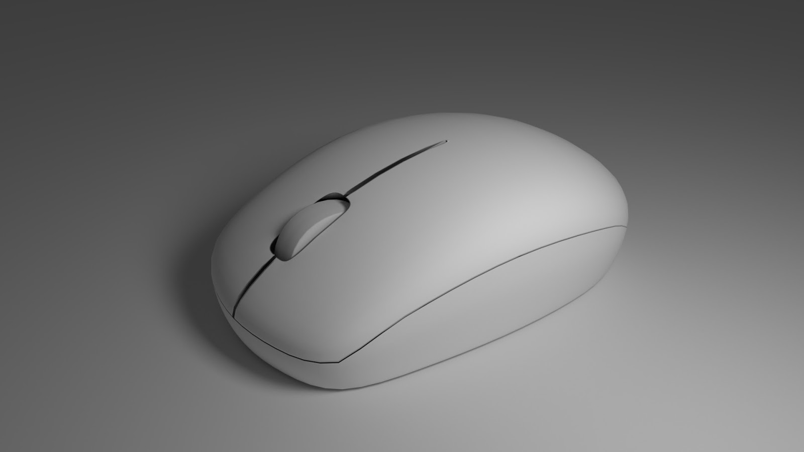 Free 3D Optical Mouse .blend file