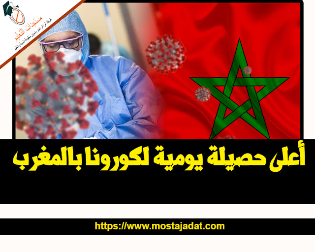 أعلى حصيلة يومية لكورونا بالمغرب