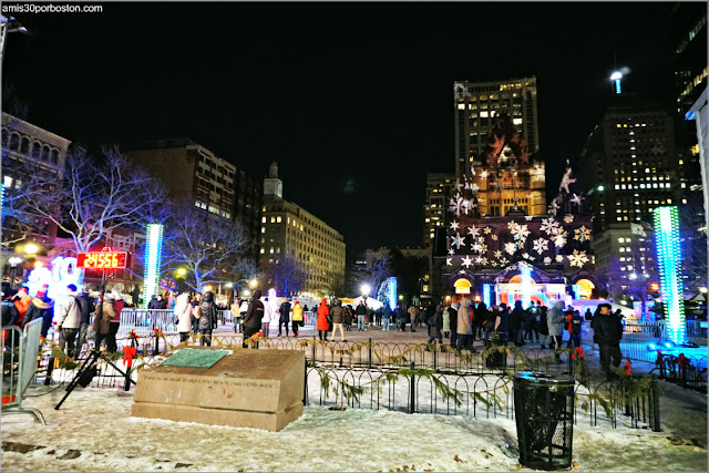 First Night de Boston en Copley Square