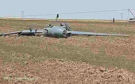 فيديو - لتحطم طائرة  بدون طيار في الجزائر بولاية ام البواقي