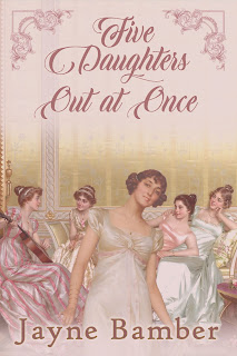 Book Cover: Five Daughters Out at Once by Jayne Bamber