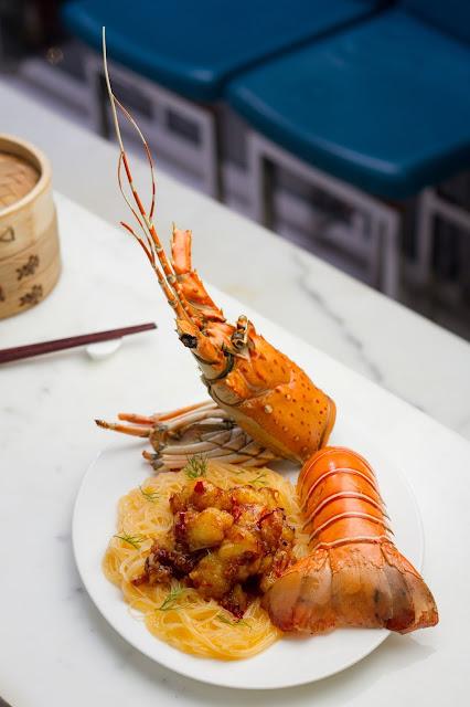 Sichuan stye lobster