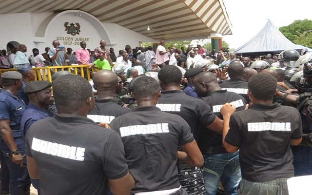Private Security of NPP Exposed By Ghana BNI